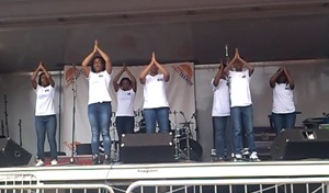 YGLP™ Students Performing at the Call & Post® Juneteenth Festival