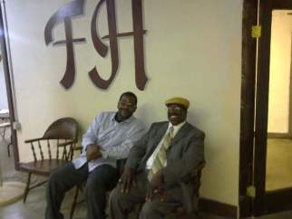 GASA Founder Tim Carthon with GFA Church Pastor Bishop Carthon