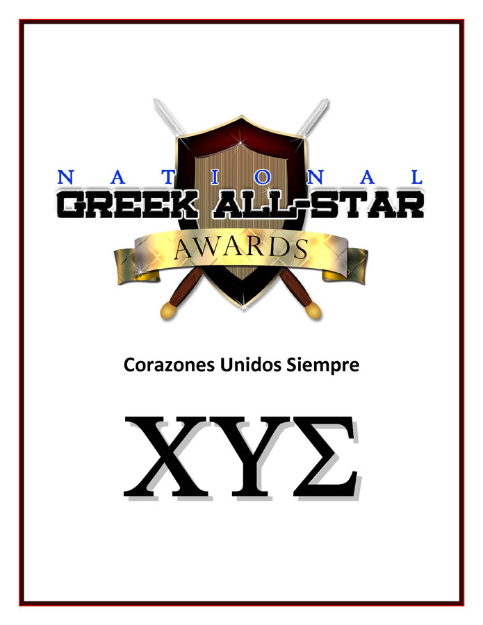 Corazones Unidos Siempre Chi Upsilon Sigma National Latin Sorority, Inc.® Greek Life Photos