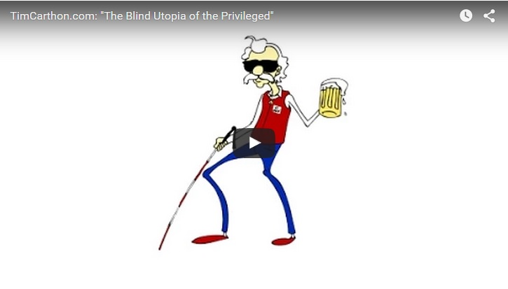 The Blind Utopia of the Privileged