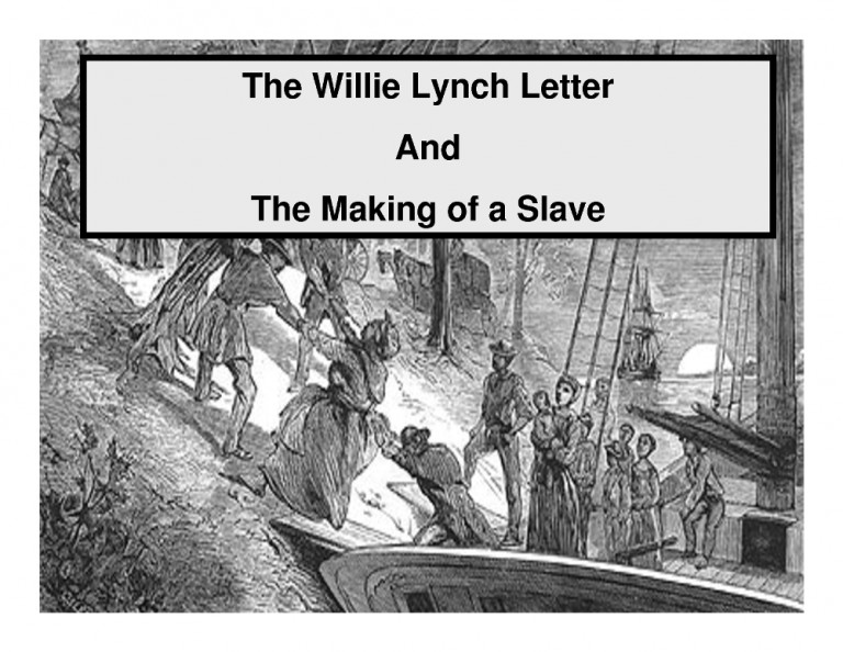 breaking the curse the willie lynch This book is a shocking eye opener it penetrates the very heart of the divisions, that exist between black men & women today the author clearly describes in explicit detail, the mind enslaving techniques imposed on the african during north americ.