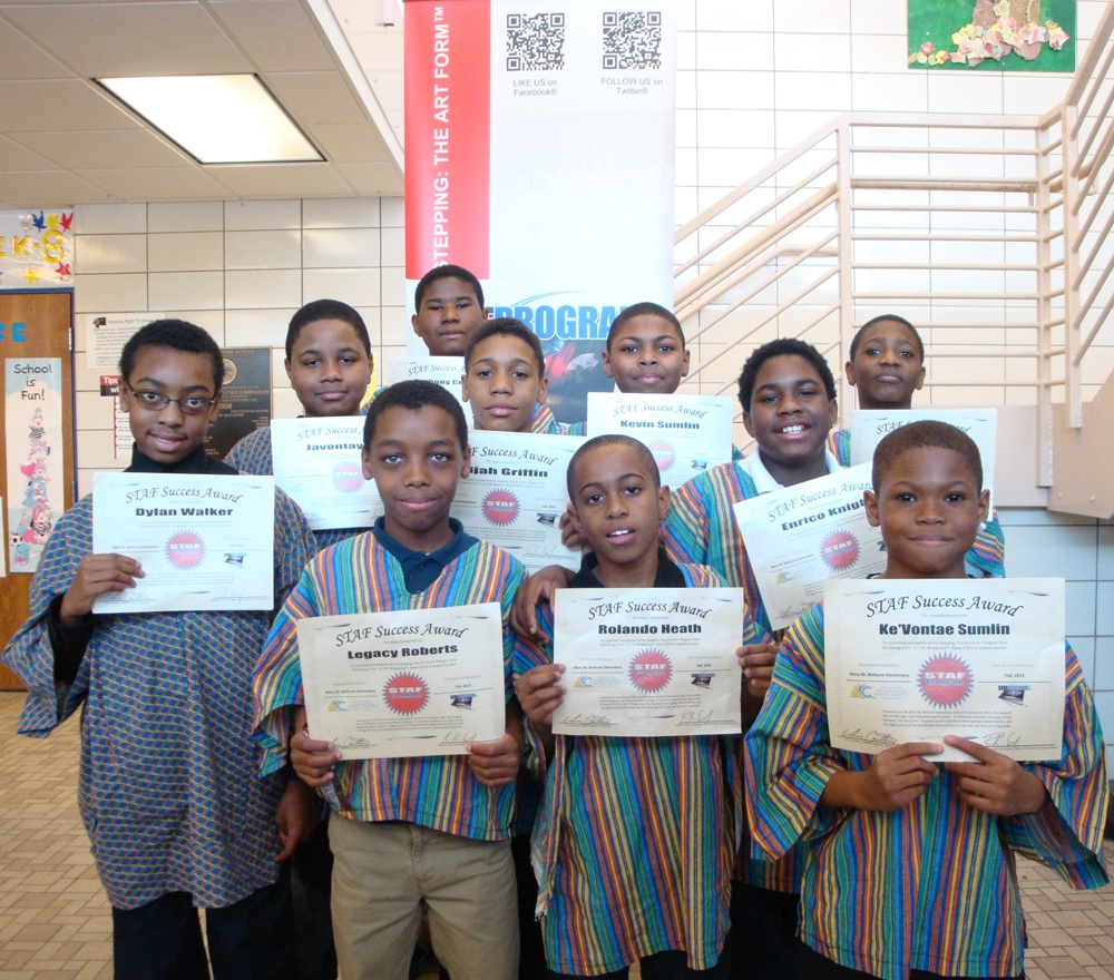 STAF Program™ Award Earning Students