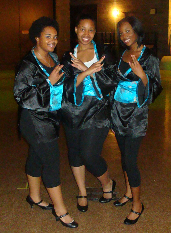 Sigma Gamma Rho® Sorority, Inc. Step Team Members
