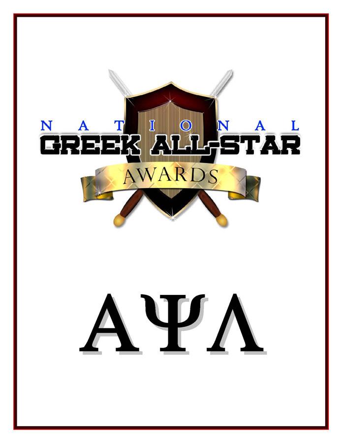 Alpha Psi Lambda® National, Inc. Greek Life Photos