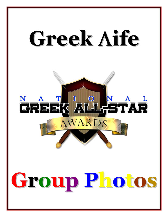 Greek Life Group Photos