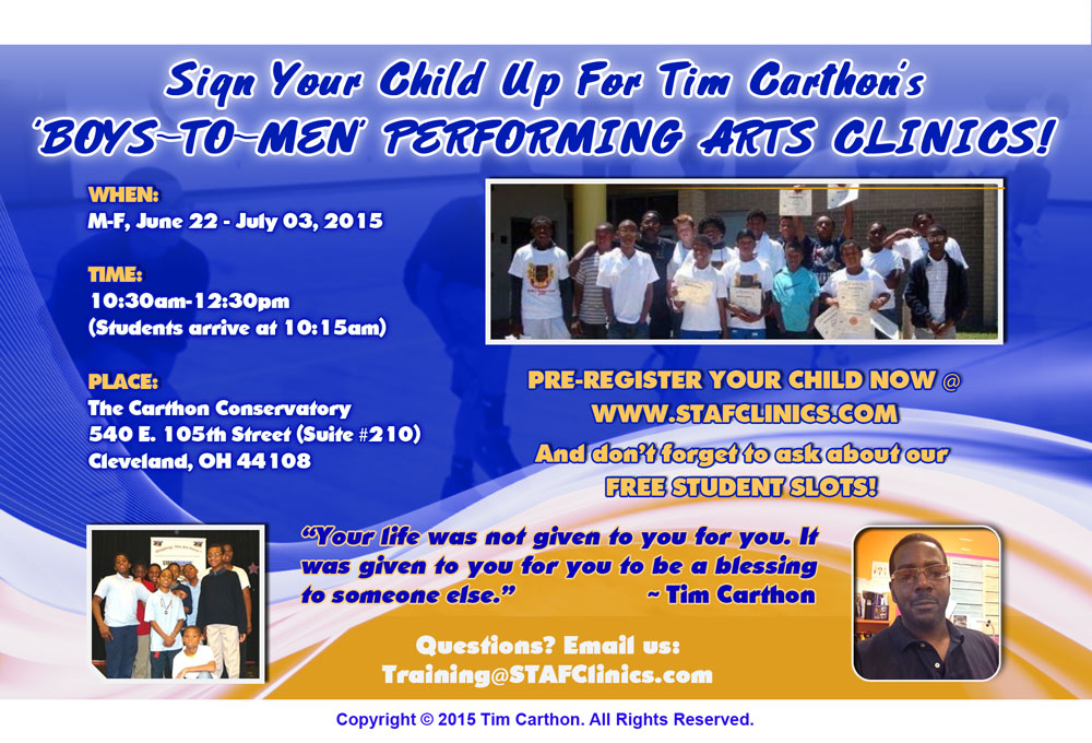 Register Your Children Today!
