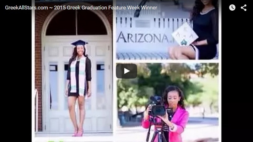 Greek Graduation Feature Week 2015 (AKA)