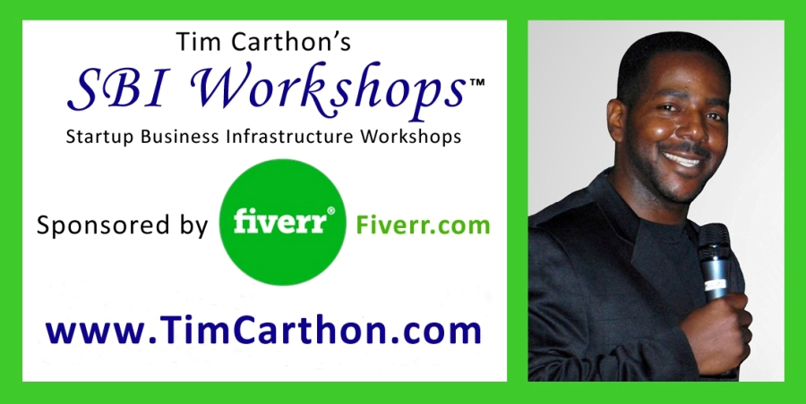 Tim Carthon's SBI Workshops™, sponsored by Fiverr®