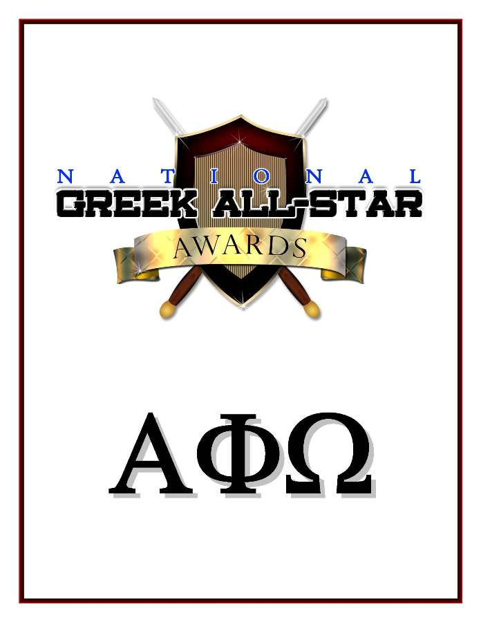 Alpha Phi Omega® Fraternity, Inc. Greek Life Photos