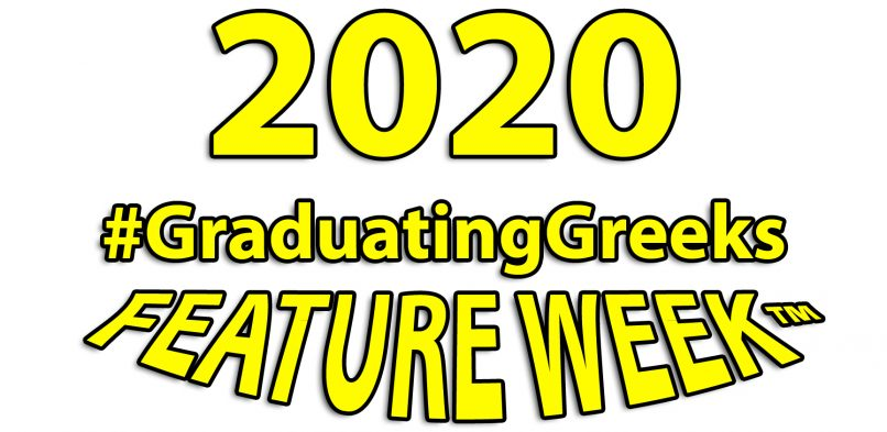 Final 2020 #GraduatingGreeks Feature Week™ Photo Contest Vote Tally